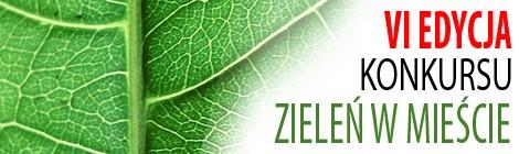 Zaproszenie na konkurs ZIELEŃ W MIEŚCIE 2014
