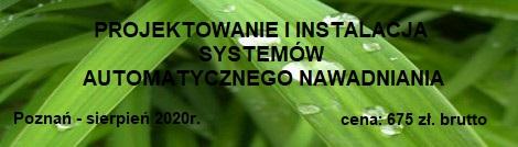 """Szkolenie: """"Projektowanie i instalacja systemów automatycznego nawadniania"""